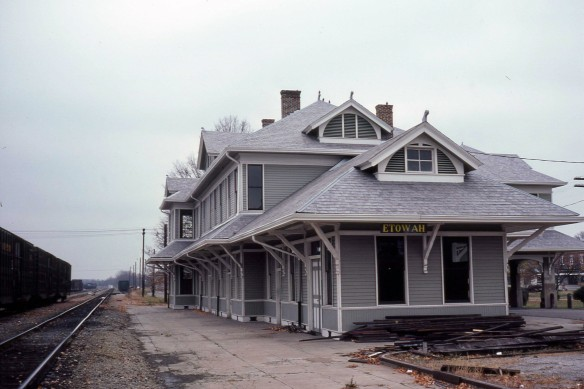 L&N Railway Depot - Etowah, TN (Credit: Tom Rock)