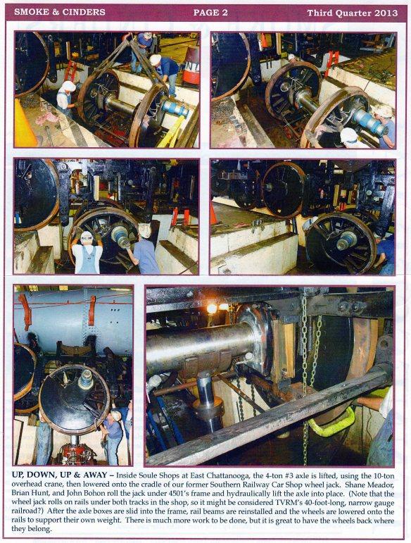 4501 Restoration Update #3 Pg 2
