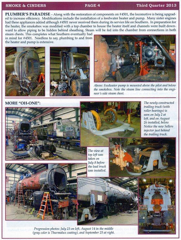 4501 Restoration Update #3 Pg 4