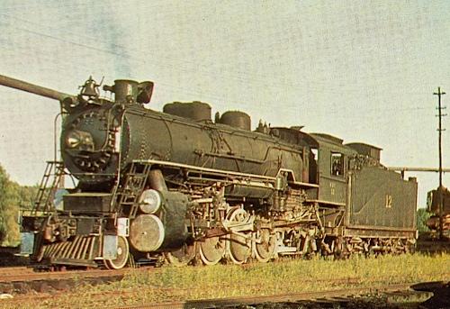 K&T #12 Ex-Southern Railway #4501 - (Credit: Hawkinsrails)