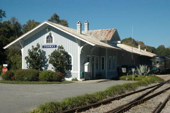 Atlantic Coast Line Depot - Conway, SC (Credit: www.condrenrails.com)