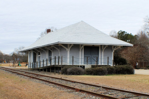 Southern Depot - Heath Springs, SC (Credit: www.sciway.net)