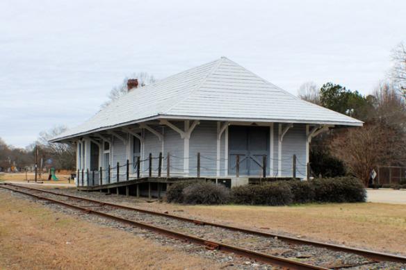 Southern Depot - Heath Springs, SC (Credit: www.sciway.net)