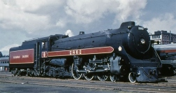 CPR # 2862 - Vancouver BC 1955 (Credit: Stan Styles)